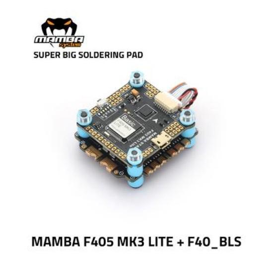 MAMBA Stack Basic F405 MK3 Lite 40A 3-6S ESC BLS 8Bit FC M3 30.5mm FC ESC
