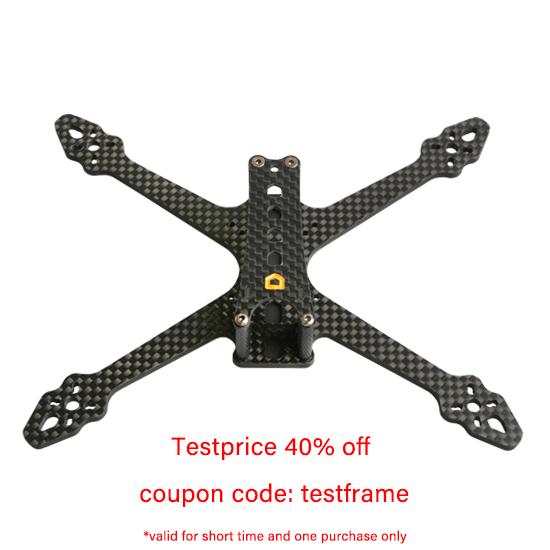 F3.5Nano 3.5-Inch Professional FPV Freestyle Drone Frame aMAXinno