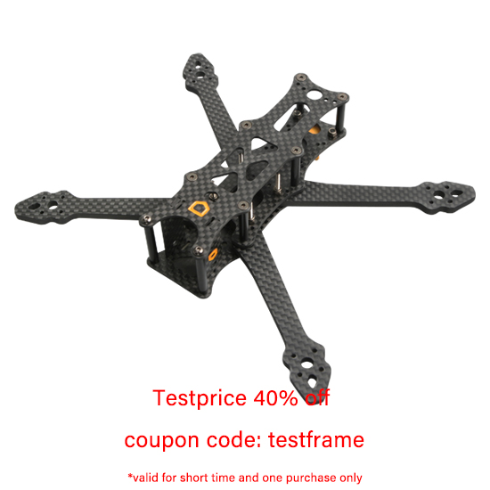 F4Mini 4-Inch Professional FPV Freestyle Drone Frame aMAXinno