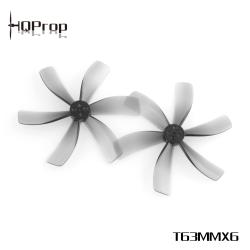 HQProp T63MMx6 T-Mount 1.5mm Light Grey PC Propeller