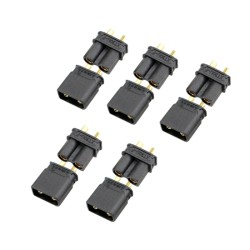XT30-U (5 Pairs) Black Connector AMASS