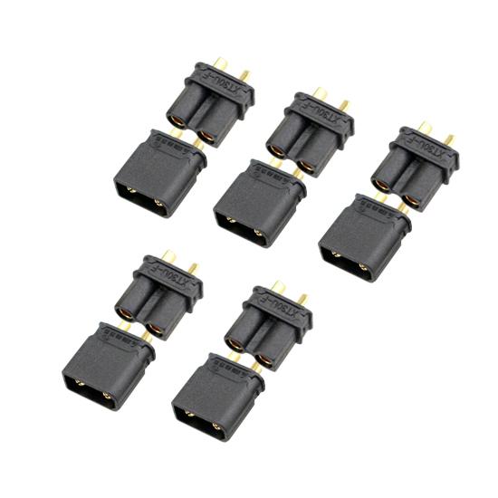 XT30-U (5 Pairs) Black Connector AMASS